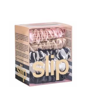Slip Silk Midi Scrunchies - Multi (Pack of 5)
