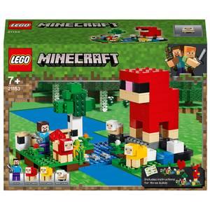 LEGO Minecraft: The Wool Farm Building Set (21153)