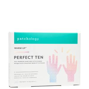 """Patchology Warm Up """"Perfect Ten"""" Self-Warming Hand & Cuticle Mask"""