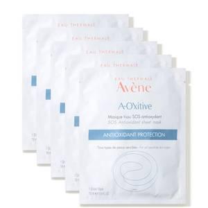 Avène A-Oxitive SOS Antioxidant Sheet Mask 5 x 4.8 fl. oz (Worth $60)