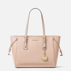 MICHAEL Michael Kors Women's Voyager Medium Top Zip Tote Bag - Soft Pink