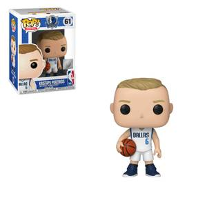 NBA Dallas Mavericks - Kristaps Prozingis Pop! Vinyl Figur
