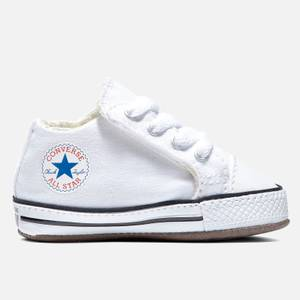 Converse Babies' Chuck Taylor All Star Cribster Soft Trainers - White