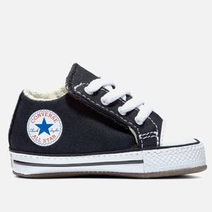 Converse Babies' Chuck Taylor All Star Cribster Soft Trainers - Black