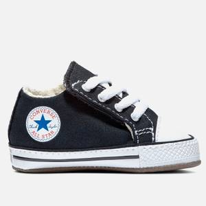 Converse Babys' Chuck Taylor All Star Cribster Soft Trainers - Black