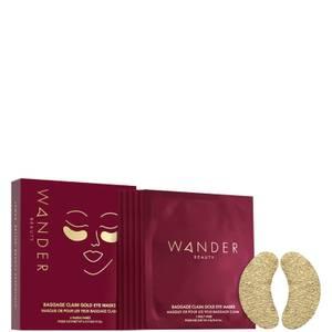 Wander Beauty Baggage Claim Gold Eye Masks - Set of 6 0.84 oz