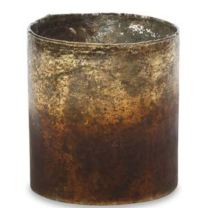 Nkuku Morri Tealight Holder - Small - Gold