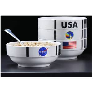 NASA Shuttle Stackable Bowl Set