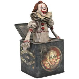 Diamond Select Movie Gallery PVC Figure - Pennywise In The Box