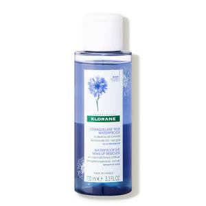KLORANE Waterproof Eye Make-Up Remover With Organically Farmed Cornflower 3.3 fl. oz