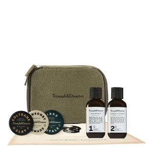 Triumph & Disaster Road Less Travelled Dopp and Haircare Travel Kit