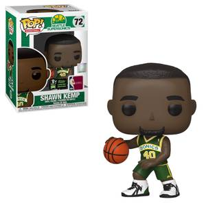 NBA Seattle Supersonics Shawn Kemp ECCC 2020 EXC Funko Pop! Vinyl