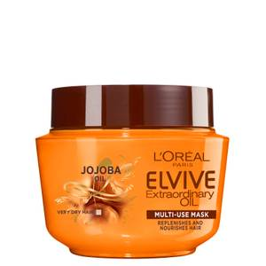 L'Oréal Paris Elvive Extraordinary Oil Hair Mask Pot for Dry Hair 300ml
