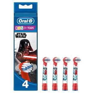 Kids' Opzetborstels Met Star Wars-figuren, Verpakking 4-Pak