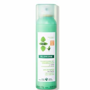 KLORANE Purifying Tinted Dry Shampoo with Nettle for Oily Brown-Dark Hair 150ml