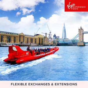 Thames Rockets Speed Boat Voyage for Two