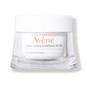 Avène Les Essentiels Rich Revitalizing Nourishing Cream Moisturiser for Dry, Sensitive Skin 50ml