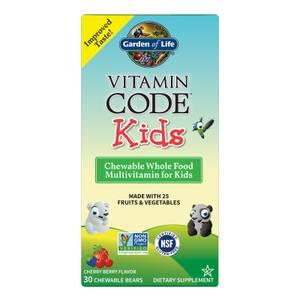 Vitamin Code Kids' Multivitamins - Cherry Berry - 30 Chewables