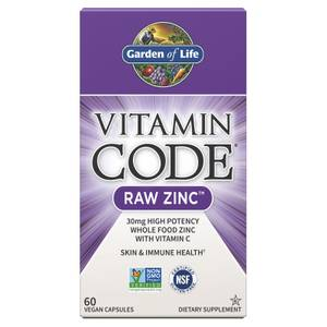 Zinco Raw Vitamin Code - 60 Capsule