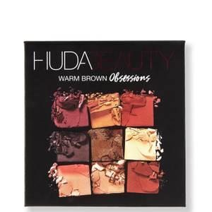 HUDA Beauty Palette d'ombres à paupières Obsessions Warm Brown