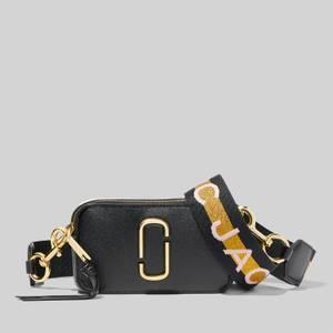 Marc Jacobs Women's Snapshot MJ Cross Body Bag - New Black Multi