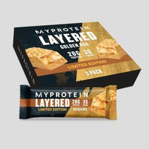 Golden Layered Bar - 3 Pack
