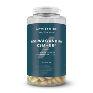 Myvitamins Ashwagandha KSM66 Capsules