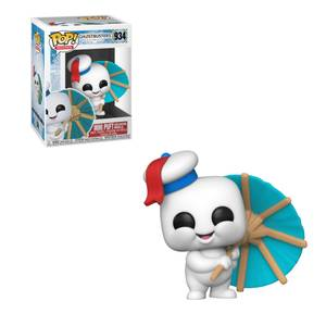 Ghostbusters: Afterlife Mini Puft with Cocktail Umbrella Funko Pop! Vinyl