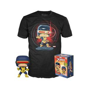 Marvel 80th First Appearance Cyclops EXC Pop and Tee Bundle