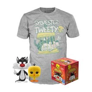 Looney Tunes Sylvester & Tweety Pop! And Tee Bundle