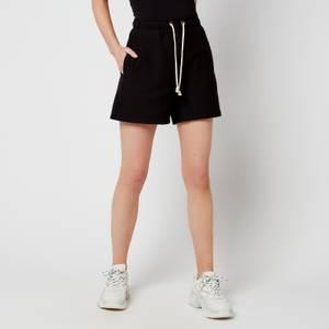 Champion Women's Tonal Script Shorts - Black