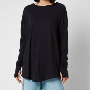 Free People Women's Arden Long Sleeve T-Shirt - Black