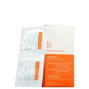 Dr Dennis Gross Skincare Alpha Beta Universal Daily Peel (Pack of 30) (Worth $102.00)