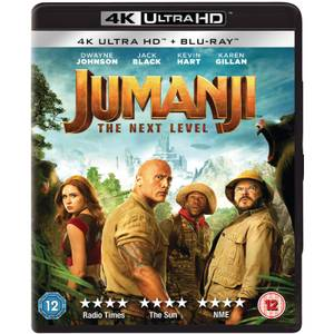 Jumanji: next level - 4K Ultra HD (Blu-ray Inclus)