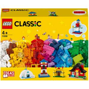 LEGO Classic: 4+ Bricks and Houses Building Set (11008)