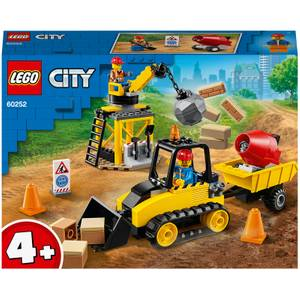 LEGO City: Great Vehicles Construction Bulldozer Set (60252)