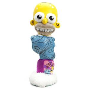 Kidrobot The Simpsons Mr. Sparkle 11 Inch Plush