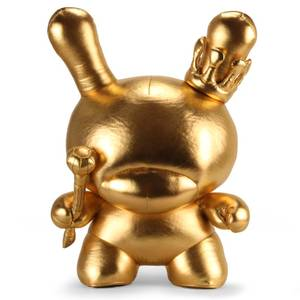 Kidrobot Gold King Dunny by Tristan Eaton 20 Inch Plush