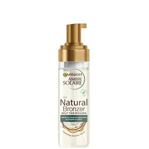 Garnier Ambre Solaire Vegan Natural Bronzer Intense Clear Self Tan Mousse 200ml