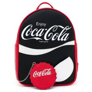 Loungefly Coca Cola Logo With Coin Purse Mini Backpack