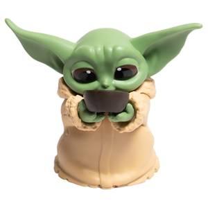 "Hasbro Star Wars: The Mandalorian Baby Bounties ""Sipping Soup"" Mini Figure"