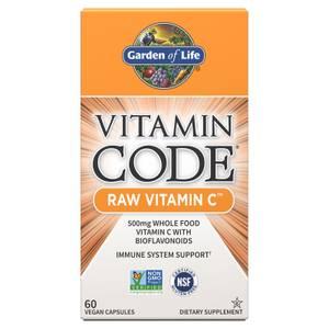 Vitamin Code Raw Vitamin C - 60 Capsules