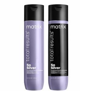 Matrix Total Results So Silver Shampoo and Conditioner