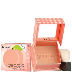 benefit Georgia Golden Peach Powder Blush Mini