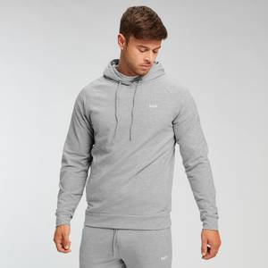 Sweat à capuche MP Form pour hommes – Gris chiné