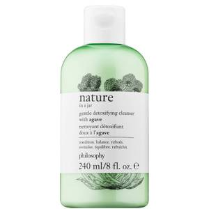 philosophy Nature in a Jar Detoxifying Cleanser with Agave 240ml