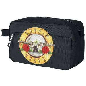 Rocksax Guns 'N' Roses Roses Logo Wash Bag
