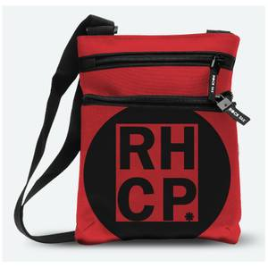 Rocksax Red Hot Chili Peppers Red Square Body Bag