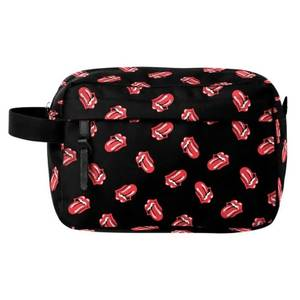 Rocksax The Rolling Stones Classic All-Over Tongue Wash Bag