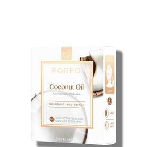FOREO Coconut Oil UFO/UFO Mini Nourishing Face Mask for Dry Skin (6 Pack)